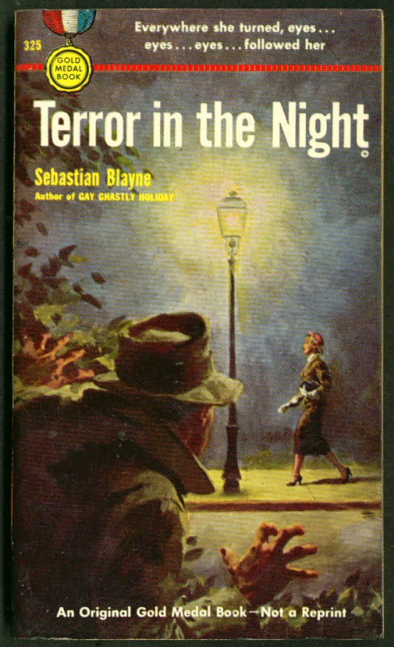 Blayne: Terror in the Night noir pb thug threat girl