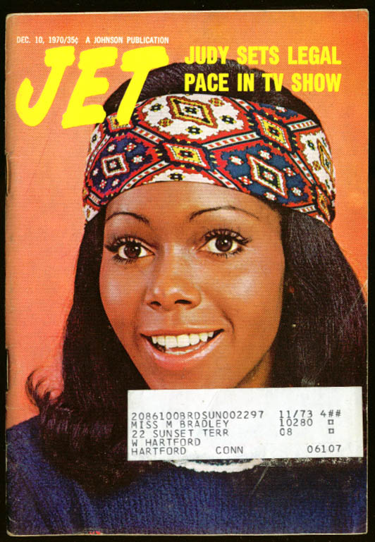 JET Judy Pace NAACP Image Awards Janice Ross 12/10 1970