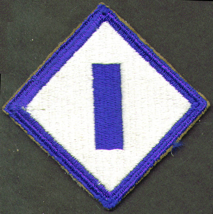 Image for U S Army 1st Service Command shoulder patch
