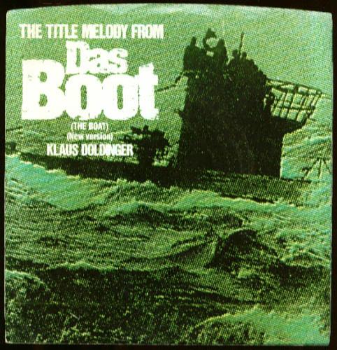 Doldinger: Title Melody film Das Boot 45rpm record 1982