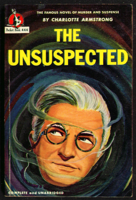 Armstrong: The Unsuspected noir pb pince nez smoke
