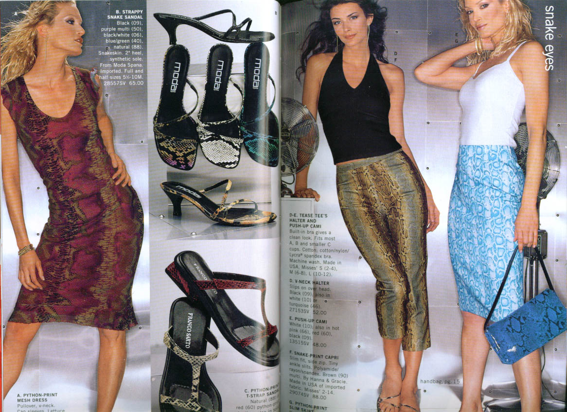 Title bloomingdale s hot trends women s clothing catalog 2000