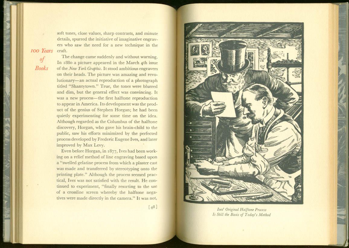 Davey Printing 100 Years of Books Keepsake 1942 Rudge