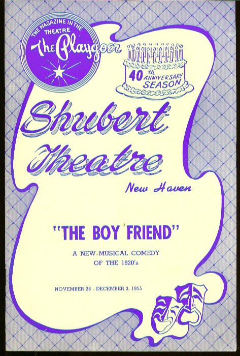 The Boy Friend Shubert Theatre New Haven 1955