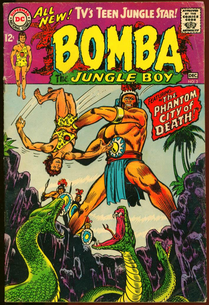 Bomba the Jungle Boy comic #2 Nov-Dec 1967