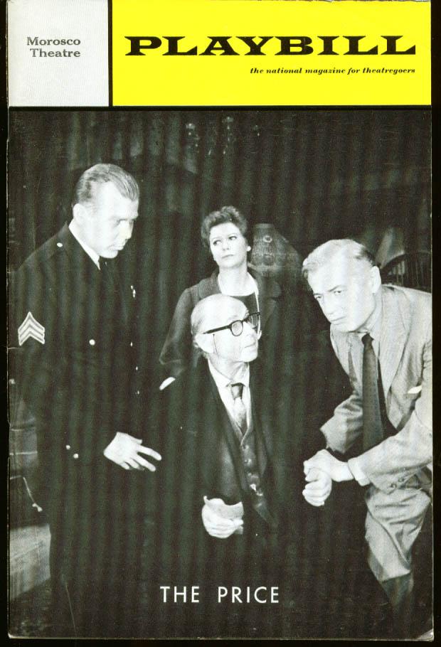 Arthur Miller's The Price Playbill 1st run 1968
