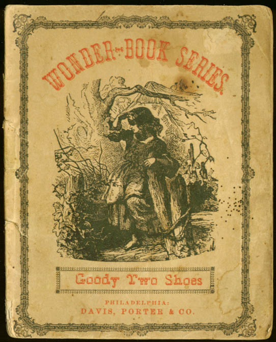 Goody Two Shoes John Absolon hand-colored pix 1860s