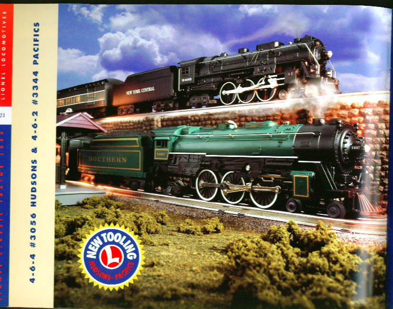 Lionel Electric Trains Catalog 1999 Book One