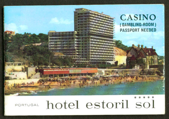 Hotel & Casino Estoril Portugal Directory 1983
