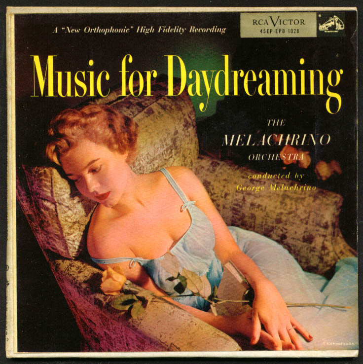 Melachrino Orchestra Music for Daydreaming 45rpm set