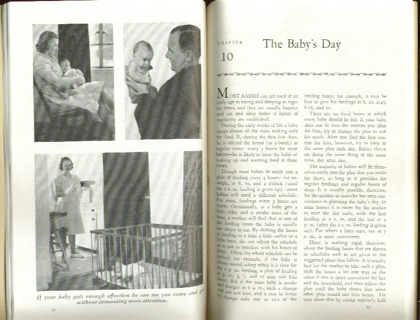 Infant Care US Children's Bureau #8 1945
