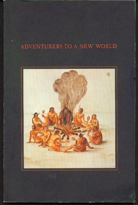 Roanoke Colony 1585-87 Adventures New World 1972