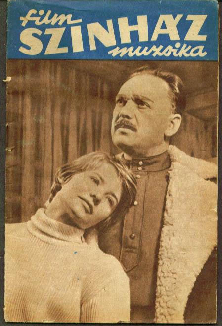 Film Szinhaz Muzsika Hungarian magazine 11/13 1959