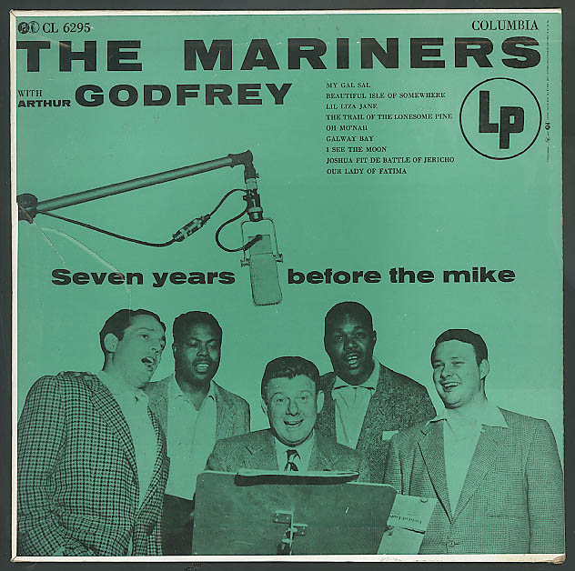 Image for The Mariners & Arthur Godfrey 33rpm record 1950s