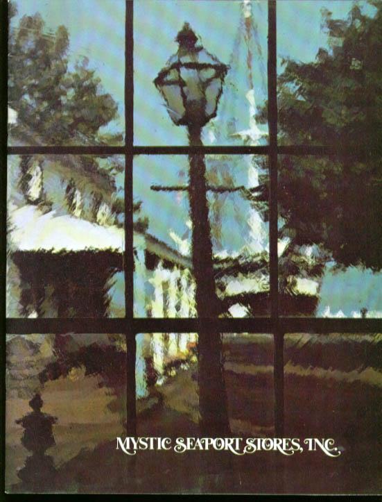 Mystic Seaport Stores nautical gift catalog 1973 CT
