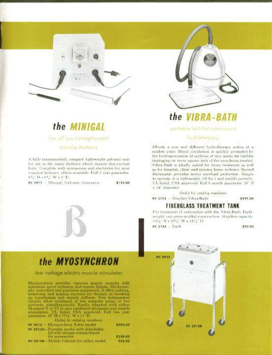 Preston Birtcher Ultrasonic Therapy Machine folder 1950s