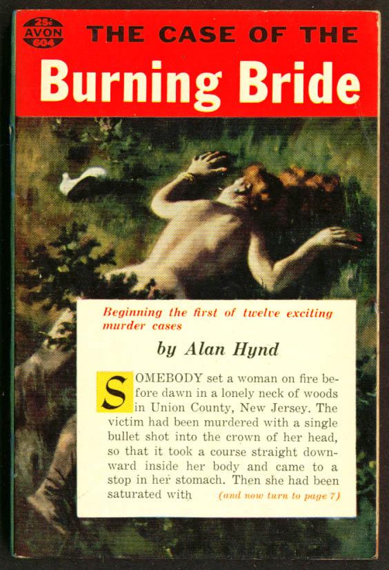 Alan Hynd Case of the Burning Bride GGA pb dead redhead
