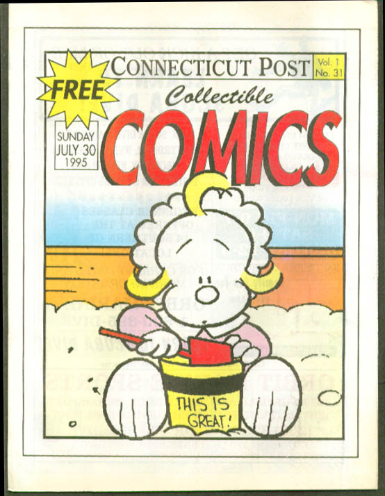Connecticut Post Comics 7/30 1995 Spider-Man Prince Valiant Hi & Lois