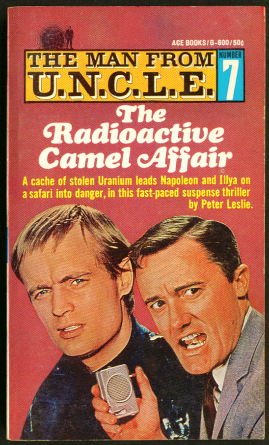 The Man from U.N.C.L.E. Radioactive Camel Affair pb '66