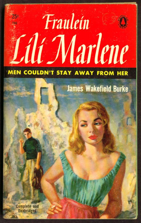 Burke: Fraulein Lili Marlene GGA pb blonde cleavage