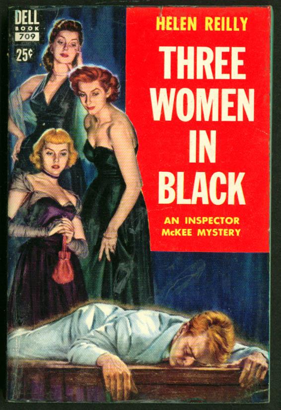 Reilly Three Women in Black GGA pb cleavage dead man