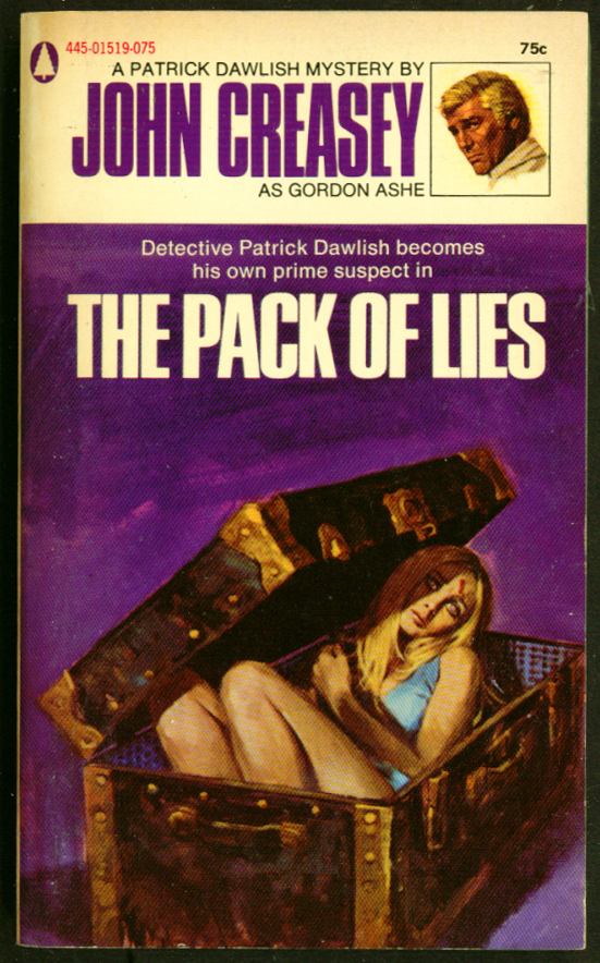 Creasey: The Pack of Lies GGA pb dead blonde footlocker