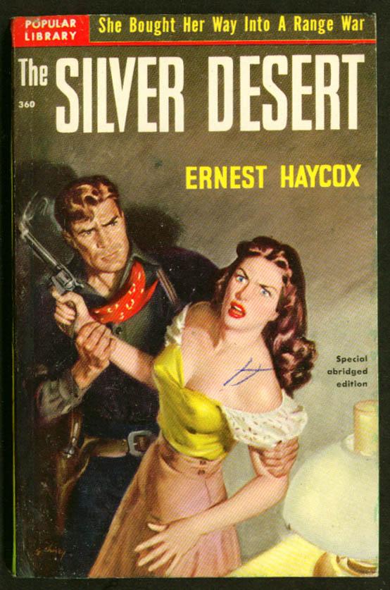 Haycox Silver Desert GGA western pb cleavage revolver