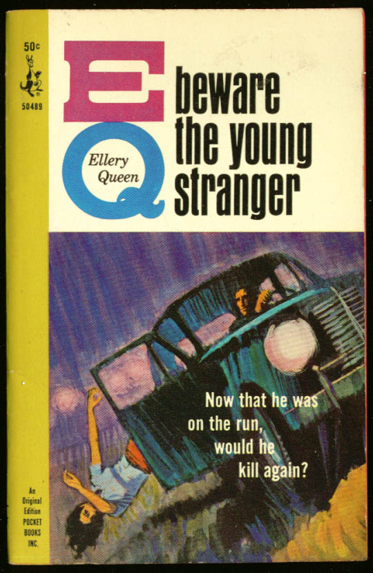 Queen Beware the Young Stranger noir pb toss girl car