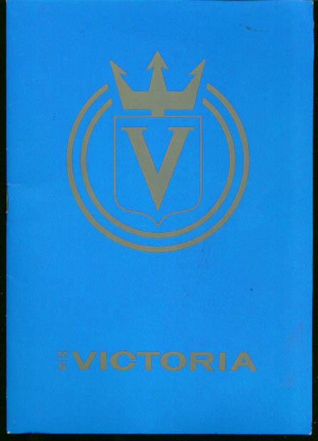 Incres Line M S Victoria Passenger List 10/21 1974