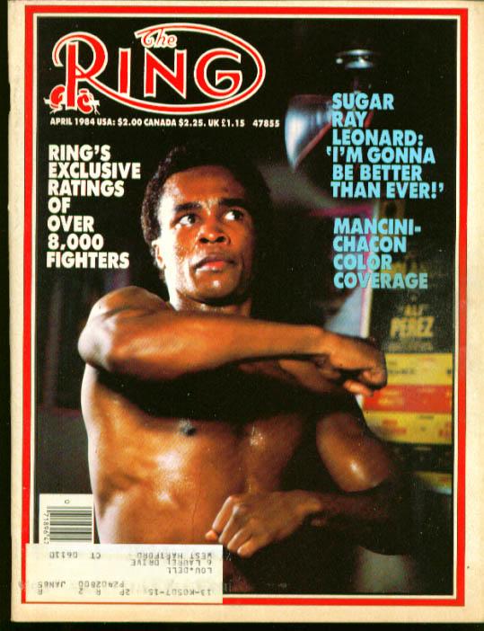 RING Leonard Mancini Kobayashi Bumphus 4 1984
