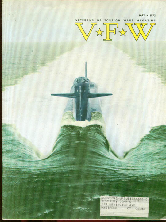 VFW Veterans Foreign Wars Nuclear Navy US-Russian Fishing5 1972