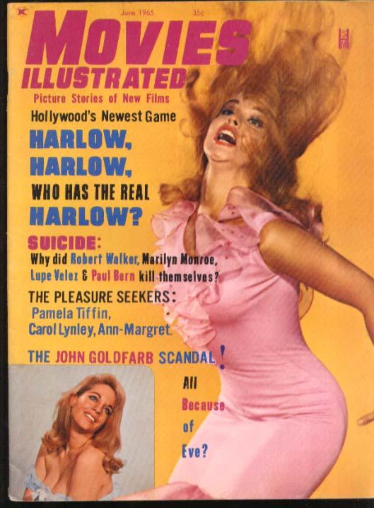 MOVIES ILLUSTRATED John Goldfarb Harlow Marilyn Monroe Robert Walker 6 1965