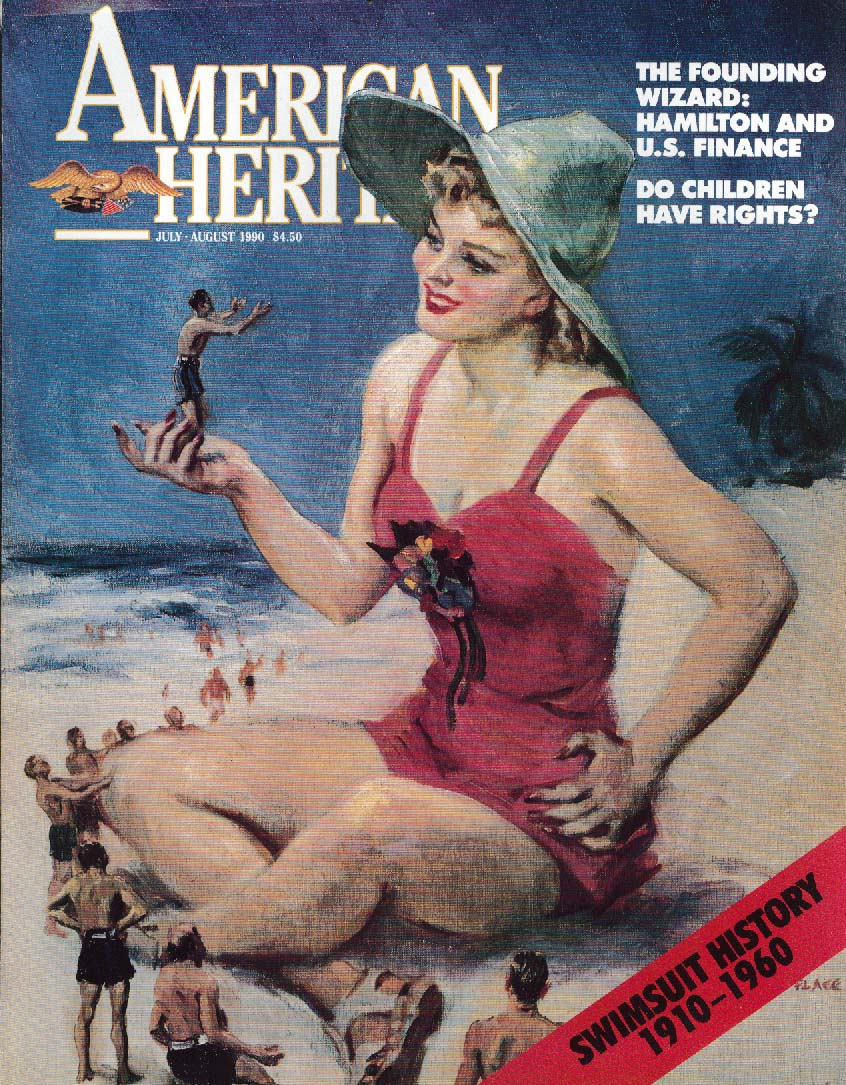 AMERICAN HERITAGE Swimsuit History 7/8 1990