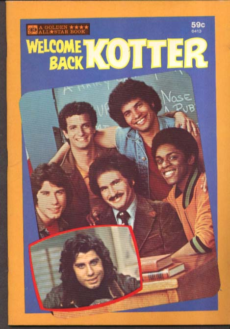 Welcome Back Kotter Golden All-Star Book #6413 1977