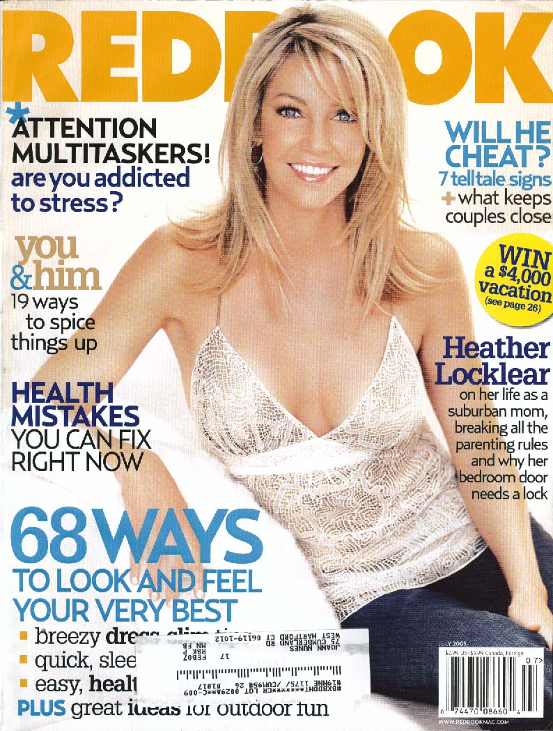 REDBOOK Heather Locklear 7 2005