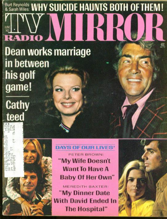 TV RADIO MIRROR Dean Martin Meredith Baxter 6 1973