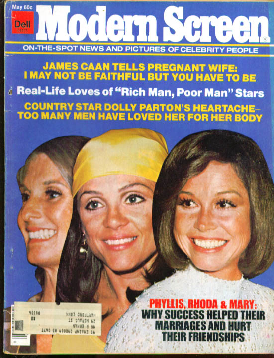 MODERN SCREEN Mary Rhoda & Phyllis Caan Dolly 5 1976