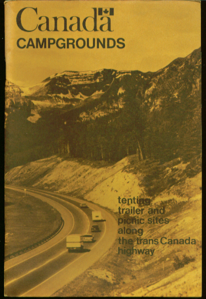 Trans-Canada Highway Campgrounds Guide 1967