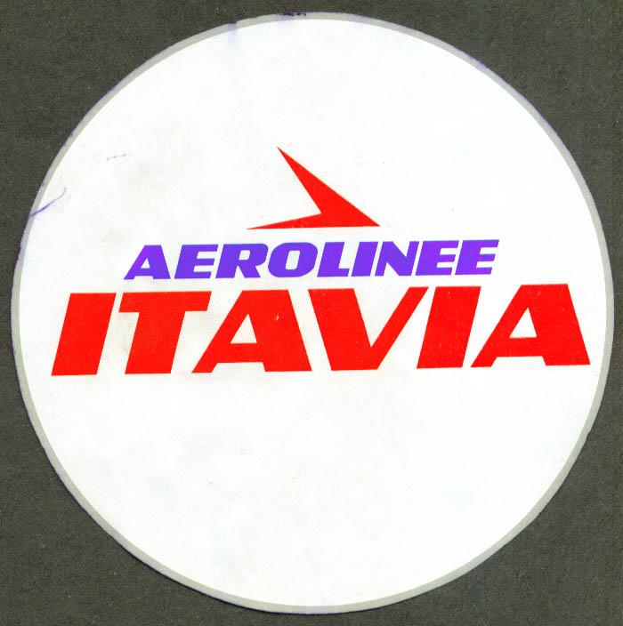 Aerolinee Atavia Airlines baggage sticker