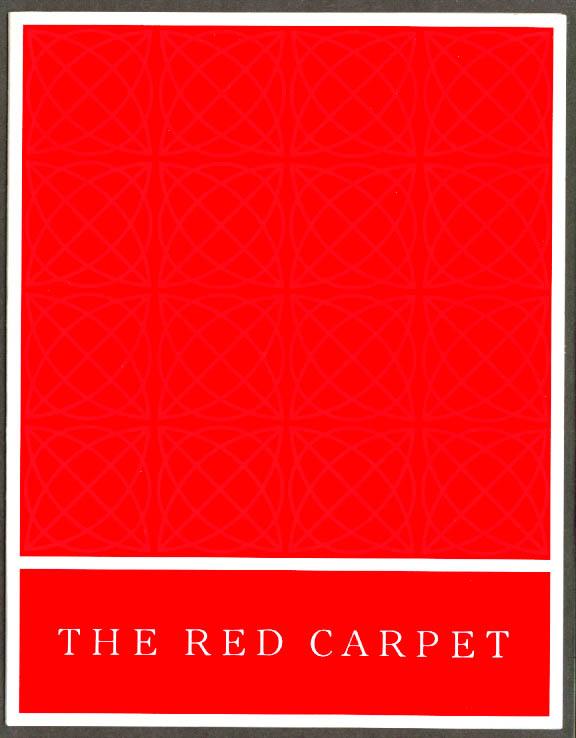 United Air Lines Red Carpet Menu BDL menu 1960s