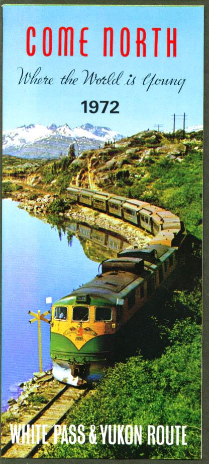 White Pass & Yukon Railway Route folder 1972