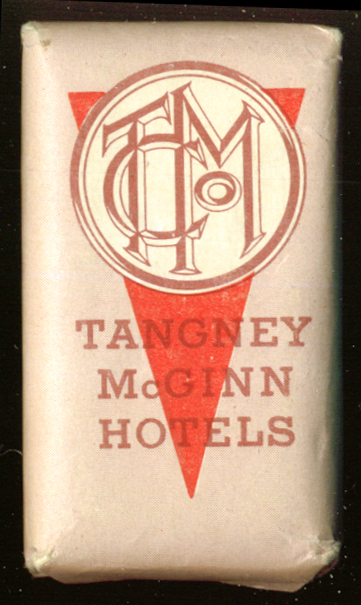 Tangney McGinn Hotel Chain guest bar of soap