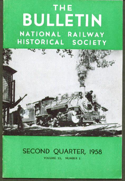 Trolley in Canada Hudson Loco NRHS Bulletin Q2 1958