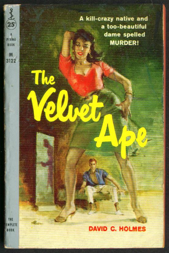 Holmes: The Velvet Ape GGA pb cleavage skirt gun