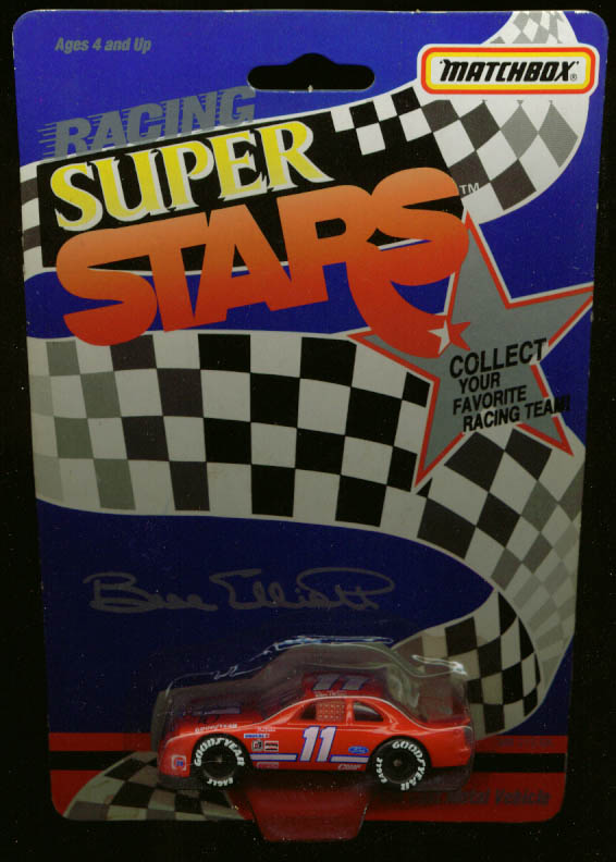 Bill Elliott Thunderbird Matchbox NASCAR Super Stars 92