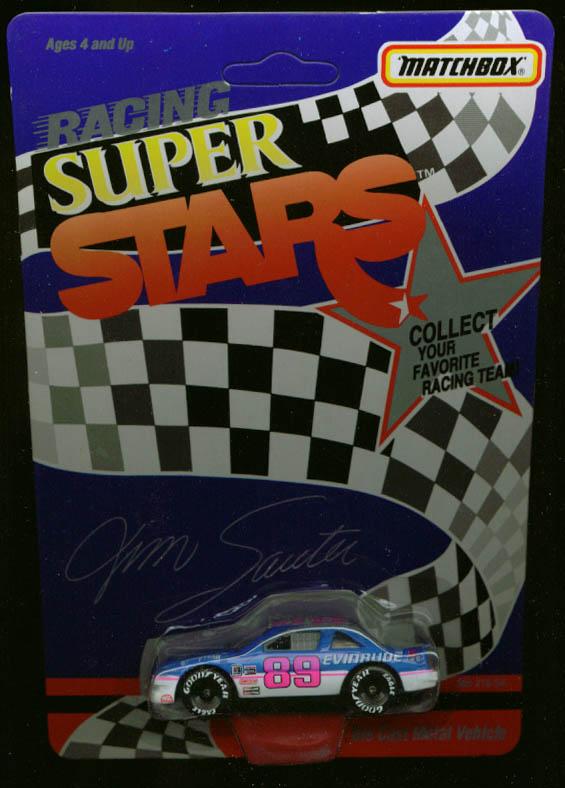 Jim Sauter Grand Prix Matchbox NASCAR Super Stars 1992