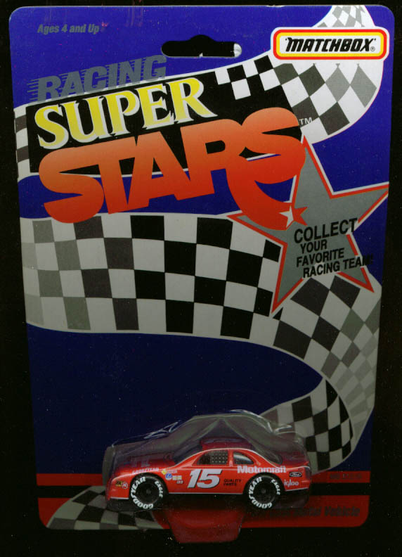 Motorcraft Thunderbird Matchbox NASCAR Super Stars 1992