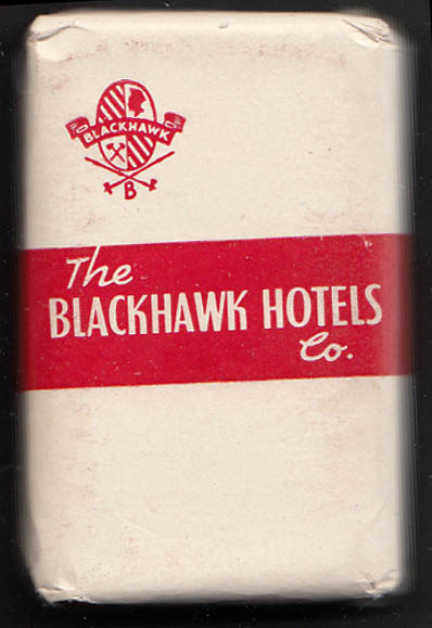 Blackhawk Hotel chain guest bar of soap IA MN IL