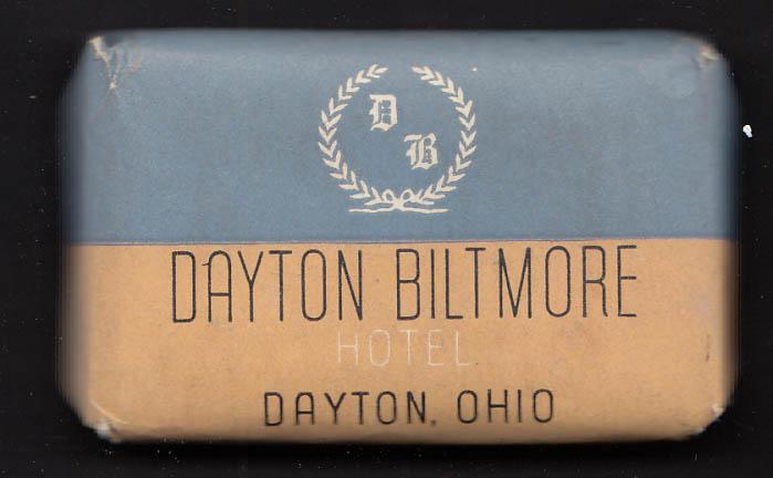 Dayton Biltmore Hotel Dayton OH guest bar of Camay soap