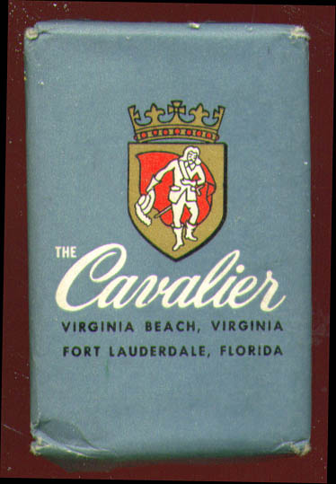 Cavalier Hotel Virginia Beach Ft Lauderdale guest soap